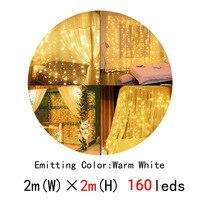 160leds warm white