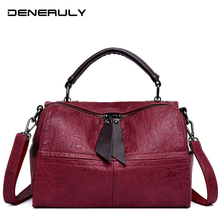 Vintage Leather Shoulder Bag Women Luxury Handbags Famous Brands Designers Leather Handbags Ladies Tote Bags Messenger Bags Sac стоимость