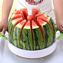 muti function fruit slicer melon watermelon slicer melon cutter practical fruit kitchen tool Watermelon Slicer Corer Large Stainless Steel Blades Fruit Vegetable Apple Melon Cantaloupe Cutter Peeler Kitchen Gadgets Tools