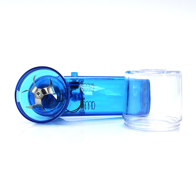 Electric Torch Shape Herb Grinder Grinder Crusher Crank Leaf Tobacco Smoke Spice Herb Muller Machine Accessories in Tobacco Pipes Accessories from Home Garden