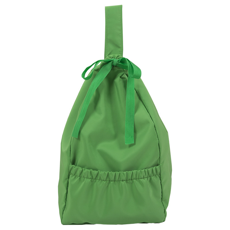 Fluorescence Green Large Drawstring Bags Big Capacity Outdoor Travel Rucksack Bags Pack Women Students Shoulder Bags Fashion