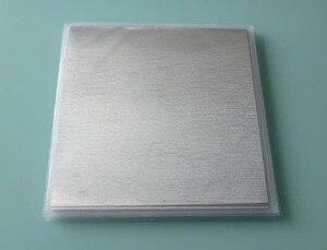Image 5 - Arkusz indu folia indowa rozmiar: 100mm * 100mm * 0.05mm zgrzewanie materiał powlekający Laser