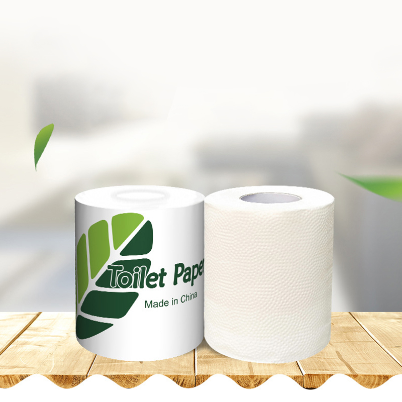 3 Layer Individually Wrapped Roll Paper Toilet Hotel Room Toilet Paper Household Toilet Paper Wood Pulp