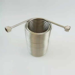 Image 2 - 50 Stainless Steel Coil ,Jockey box coil,For homebrew  with 5/8G stainless steel connector(Only Coil, Not include box and tap)