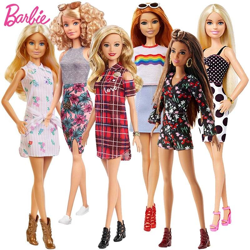 Оригинальные куклы Барби модные светлые волосы Bjd куклы для девочек Аксессуары Детские Куклы Игрушки для девочек одежда Барби Juguetes