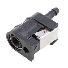 Топливный шланг/соединительный соединитель для подвесного двигателя Yamaha 6 мм 5/16 дюймов боковой бак лодочный двигатель топливная линия соединители Фитинги