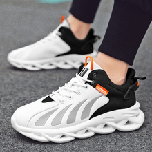 Mesh Sneakers Running-Shoes Men's New Non-Slip Breathable Twist-Bottom Lightweight Zapatos