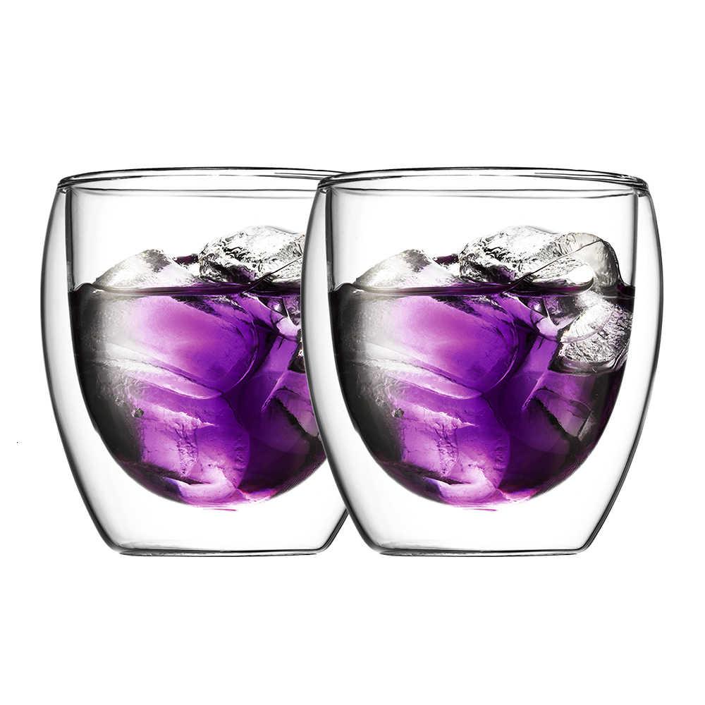 2 шт 250 мл Bodum вакуумный дизайн стаканы с двойными стенками мир самый превосходный без трещин защищающий от ожогов кофе чай напиток чашка пивное стекло