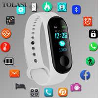 Pulsera deportiva relojes inteligentes para mujer Digital electrónico 2019 reloj de pulsera para mujer relojes de pulsera para mujer Hodinky