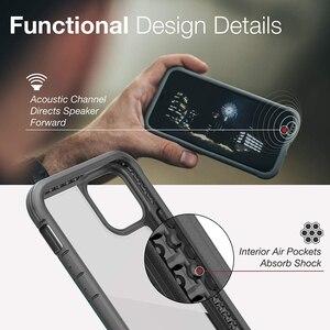 Image 4 - Túi Chống Sốc X Doria Quốc Phòng Che Chắn Ốp Lưng Điện Thoại Iphone 11 Pro Max Quân Sự Cấp Thả Thử Nghiệm Ốp Lưng iPhone 11 Pro Ốp Viền Nhôm