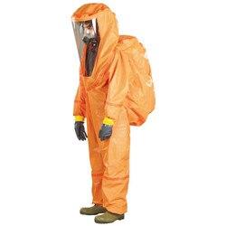 Indumenti protettivi tuta full body tuta di protezione a tenuta di liquido di emergenza heavy indumenti di protezione chimica