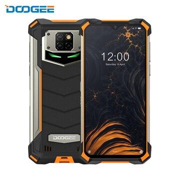 DOOGEE S88 Pro IP68/IP69K teléfono resistente 10000mAh Batería grande cambio rápido Helio P70 Octa Core 6GB RAM 128GB ROM Android 10 OS