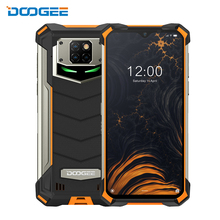 DOOGEE S88 Pro IP68/IP69K Android 10 Rugged Phone 10000mAh Battery Quick Changing Helio P70 Octa Cor