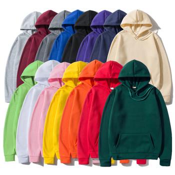 Bluzy bluzy mężczyźni kobieta moda Solid color czerwony czarny szary różowy jesień zima polar bluza z kapturem Hip hopowa mężczyzna marka Casual topy tanie i dobre opinie CN (pochodzenie) Pełna Na co dzień Stałe REGULAR Hoodies Brak STANDARD COTTON Poliester NONE One piece hoodie S M L XL 2XL 3XL