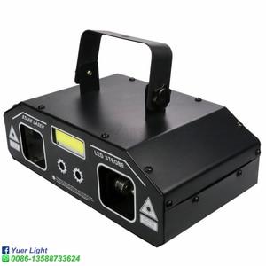 Image 3 - Projecteur Laser stroboscopique 3 en 1 RGB 36W, éclairage de scène DMX512 avec effets déclairage pour DJ, Disco, fête, danse, noël