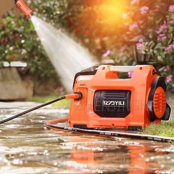 цена на High Pressure Washer Home Car Washer Portable Induction Motor High-pressure Washing Machine Car Wash Pump 1500W Cleaning Tools