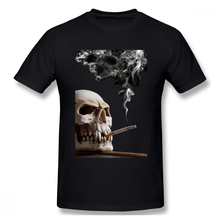 creative Smoking Is Bad For Your Health Casual O-Neck Men's Basic Short Sleeve T-Shirt 100% Cotton Tee Shirt Printed how i met your mother casual o neck men s basic short sleeve t shirt 100
