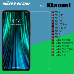 Защитное стекло Nillkin для Xiaomi Mi 9 SE Mi9 Lite Mi 9T Pro A3 8 6, защитное закаленное стекло для Redmi Note 8T 8 7 Pro K30