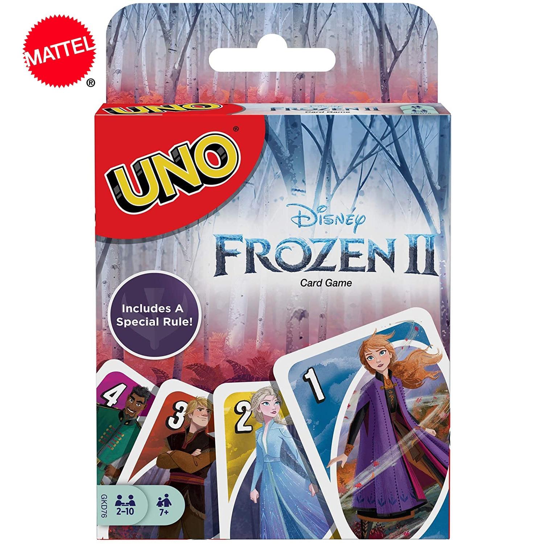 Mattel UNO Веселая развлечение настольная игра в покер, игральные карты, подарочная коробка