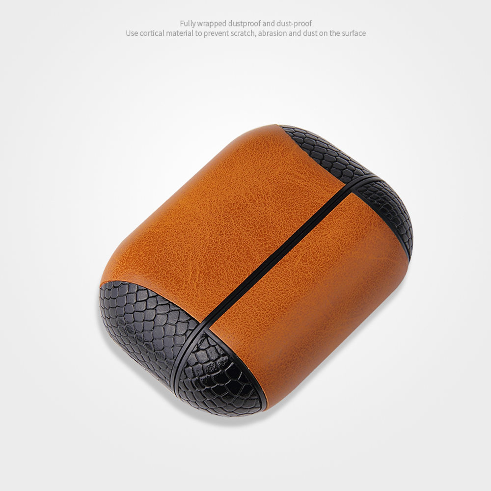 Multi-Colored Leather Case for AirPods Pro 35