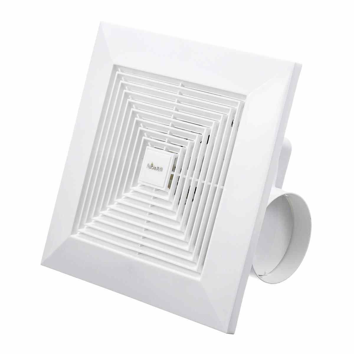 220v 10 12inch ceiling exhaust fan wall