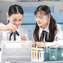 Elementy chemiczne wyświetlacz biurka okresowy wystrój stołu elementy oprawione dla studentów nauczyciele prezent rzemiosło artystyczne wystrój tanie tanio