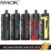 SMOK-Kit de vapeo Pod de SCAR-P5 y Scar-P3, Kit de vapeo de 5,5 ml, Cartucho SCAR P3 P5, RPM, 2 bobinas de malla, 80W, MOD de cigarrillo electrónico