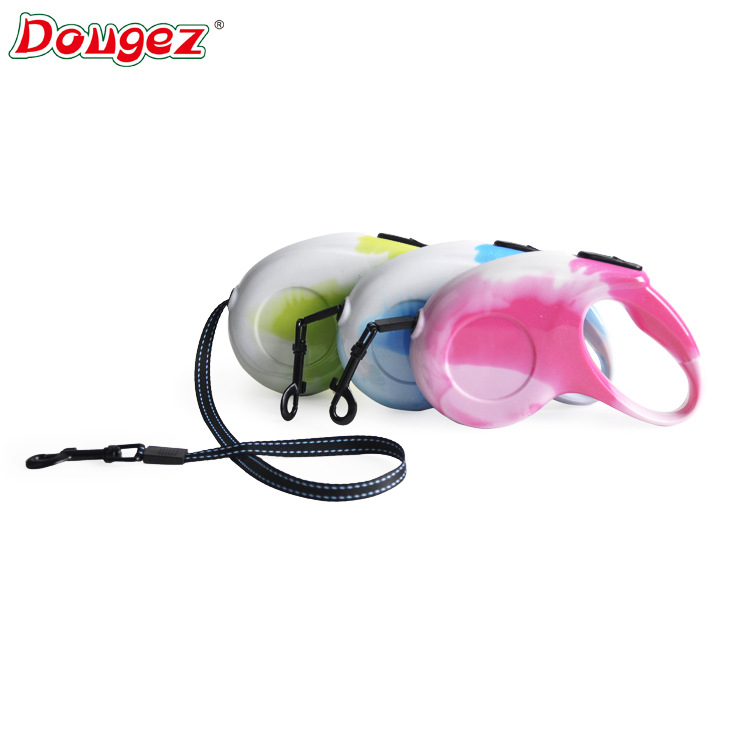 Dougez3 Mikko Automatic Telescopic Traction Belt Dog Hand Holding Rope Pet Dog Lanyard Contraction Band Pet Supplies