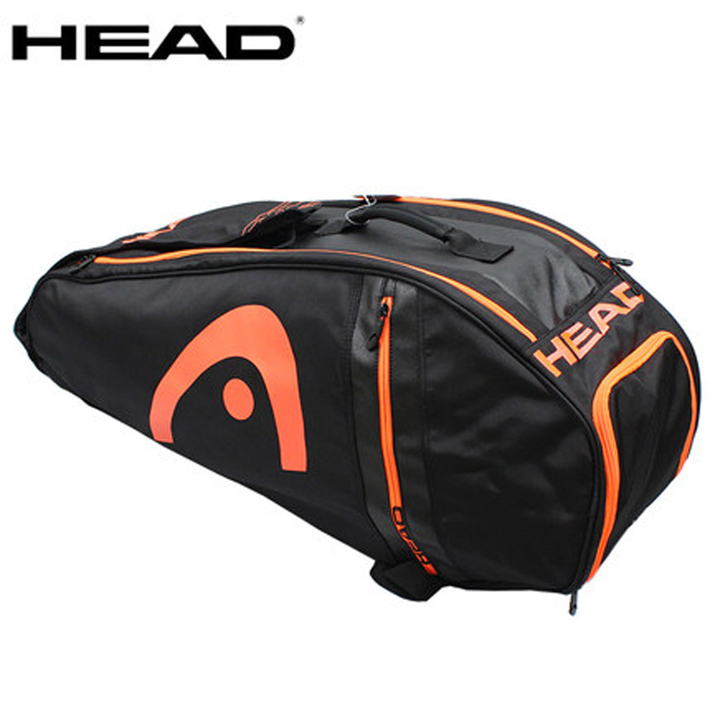 Head Tennis Bag Large Capacity Racket Backpack With Shoes Bag Can Hold 6-9 Rackets Big Bags Men Raquete De Tennis