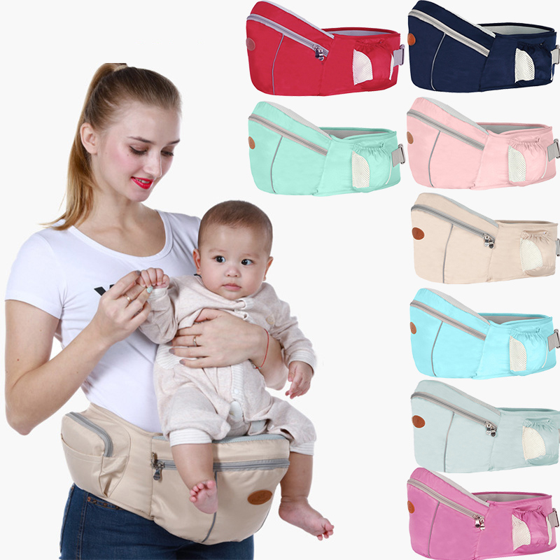 Baby Carrier Backpack Belt Waist-Stool-Walkers Hold-Waist Hip-Seat Infant Kids New