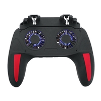 H10 cellulare Gamepad Fire Pubg Trigger Game Pad per PUBG Mobile Controller ventola di raffreddamento con Power Bank