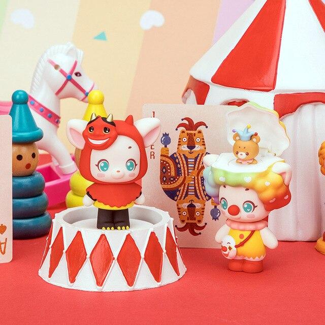 Купить олень миндаля глухая коробка куклы счастливый вечерние анимации