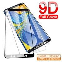 9D Volle Schutz Glas Für Samsung Galaxy A6 A8 J4 J6 Plus A6 + A8 + 2018 Gehärtetem Screen Protector j2 J3 J7 J8 A7 A9 2018 Glas