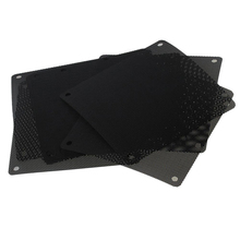 10pcs Chassis Cooler Fan Parts Computer Mesh Dustproof Computer Small Case PVC PC Cover Home Clean Accessories Dust Filter