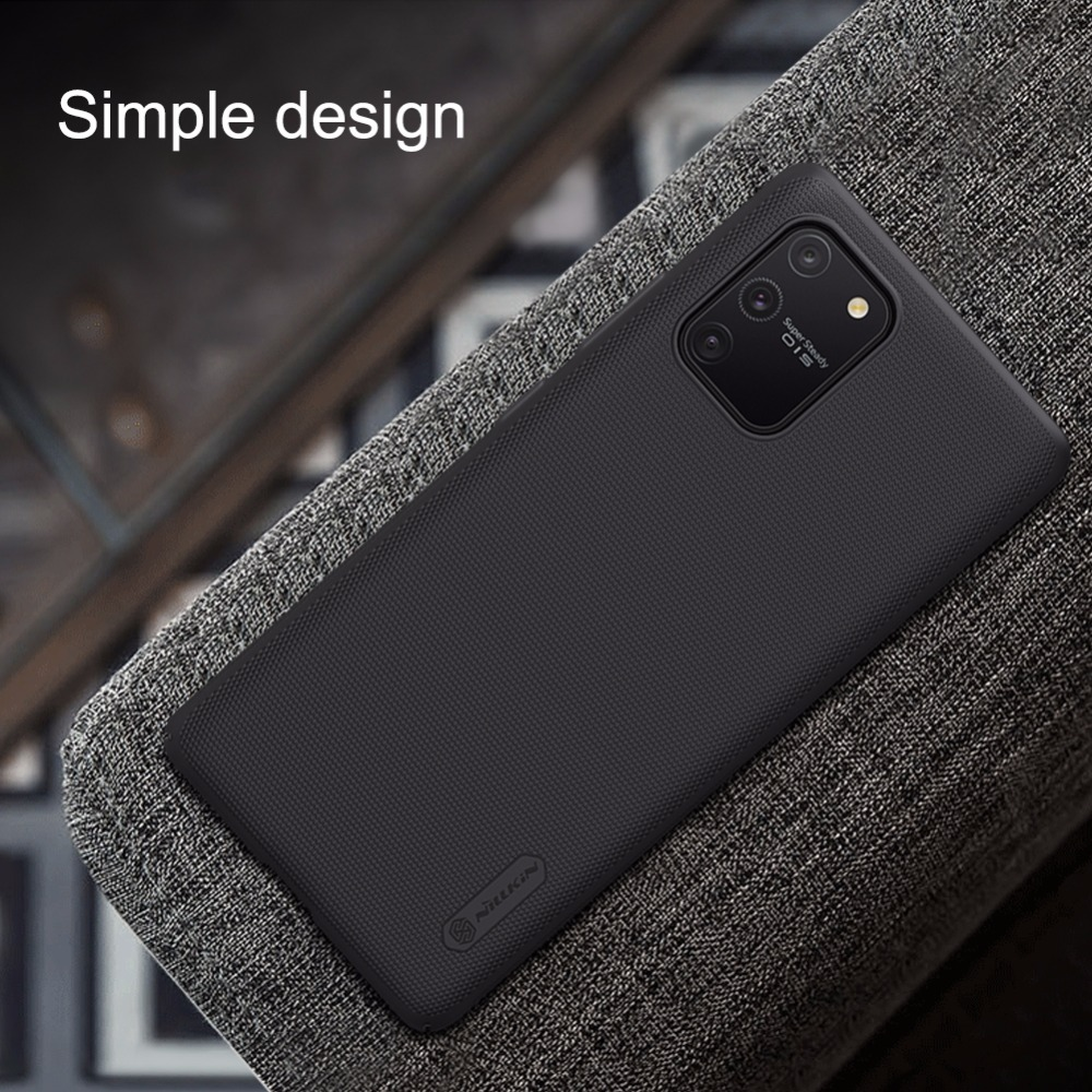 Case For Xiaomi Mi 10 Lite 5G Super Frosted Shield Back Cover For Xiaomi Mi10 Lite 5G 6.57 Inches Gift Phone Holder