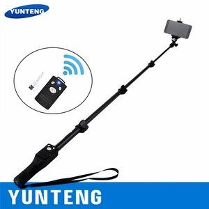 Image 1 - 100% di Marca Originale di Yunteng 1288 Selfie Spiedi Palmare Monopiede + Supporto Del Telefono + Bluetooth di Scatto per Il Telefono Macchina Fotografica Gopro