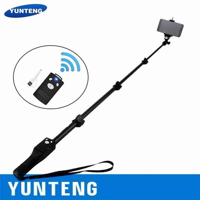 100% di Marca Originale di Yunteng 1288 Selfie Spiedi Palmare Monopiede + Supporto Del Telefono + Bluetooth di Scatto per Il Telefono Macchina Fotografica Gopro