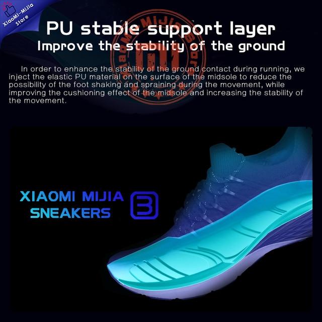 Xiaomi Mijia sneakers 3 men shoes mens casual man tenis off white black safety casual chunky platform scarpe shoe 1