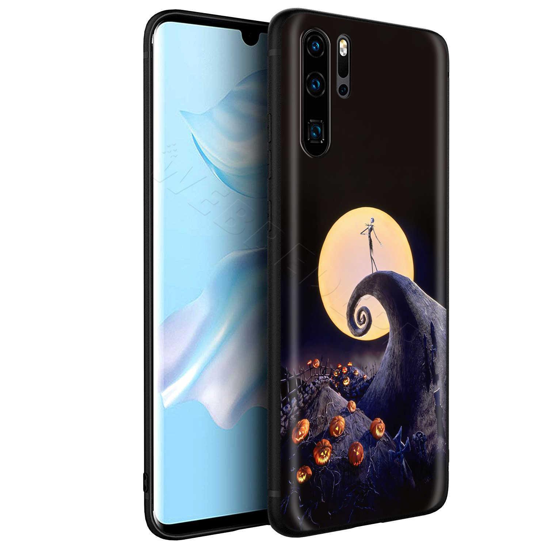 Webbedepp przed świętami bożego narodzenia Halloween Case dla Huawei P8 P9 P10 P20 P30 Lite Pro P Smart Z 2019 2019 Mini