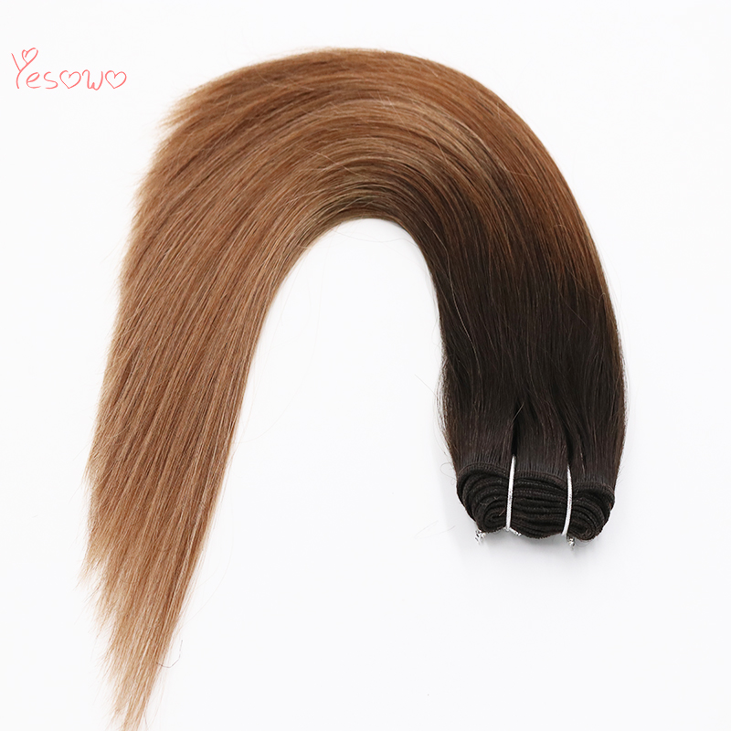 Indian Remy Hair Weave 100g African American High Quality Machine Made Natural Hair Extensions 100 Human Hair Wholesale