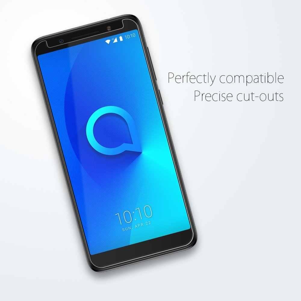 9H temperli cam Alcatel için 1 1X 1C 1S 3 3X3 V 3C 2019 Tetra 5033D 5059D 5009D 5009A 5052D 5058i 5099D 5026D ekran koruyucu
