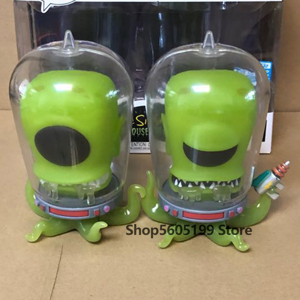 NEW! The Simpsons POP Treehouse of Horror Kang and Kodos Glow in the dark with box Vinyl Action Figures Model Toys|Action & Toy Figures| - AliExpress