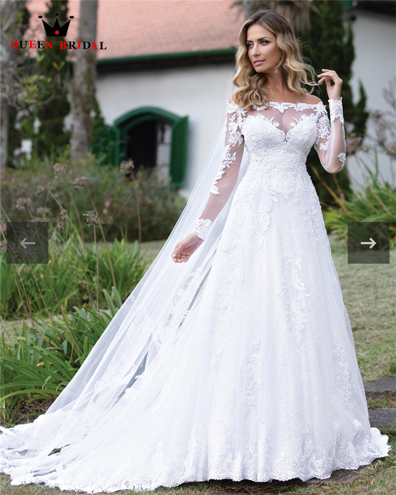 Custom Made 2020 New Design Wedding Dresses A Line Long Sleeve Tulle Lace Sequins Crystal Luxury Elegant Wedding Gowns Co24 Wedding Dresses Aliexpress,Printable Wedding Dress Template