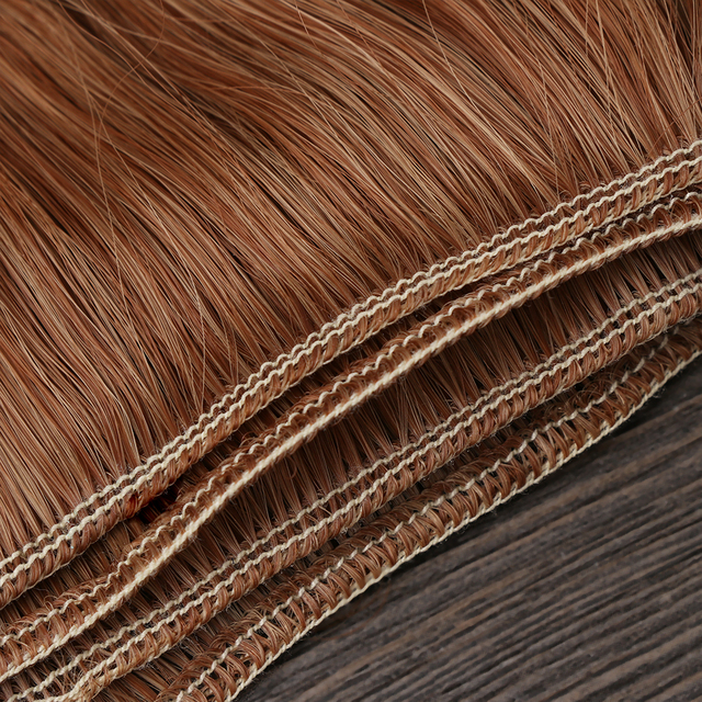 1Pc DIY 15*100cm Mini Tresses Curly Wigs High-Temperature Material Straight Hair Wig For BJD Fashion Doll Accessories Kids Gifts