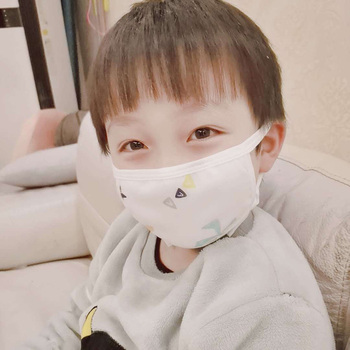 Baby Child Cartoon Reusable Face Mask Cotton Anti-somg COVID-19 Kids Gauze Mask Mixed Dustproof Protective Mouth Masks Hot Sell 2