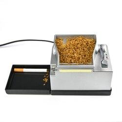 عالية الجودة آلة السجائر الكهربائية المتداول الأدوات للرجال حقن أنبوب 8 مللي متر التلقائي التبغ الأسطوانة صانع الرجال هدية