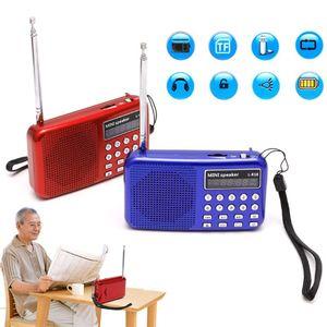 Image 3 - Mini LCD dijital ses FM radyo USB mikro SD TF kart hoparlör MP3 müzik çalar