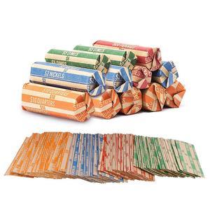 300/500/600/1000 шт крафт Бумага процентов долларовая Монета обертки шоколада в Вертикальную Полоску сумка для хранения подарок завернуто в хране...