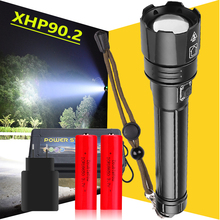 2020 NEWEST XHP90.2 LED Flashlight 18650 USB Rechargeable XH