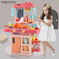 Water Function Water Tap Lagre Size Kitchen Plastic Pretend Play Toy Kids Kitchen Cooking Toy Gift Children Toys D138
